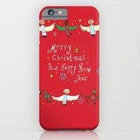 iPhone & iPod Case featuring merry devil by nefos