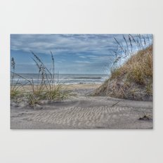 Sand Swirls Canvas Print