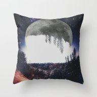Night Hike Throw Pillow