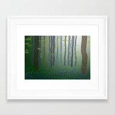 Forest Glade Framed Art Print