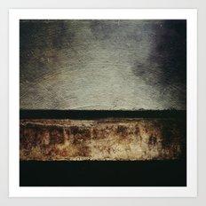 Desert Horizon Art Print