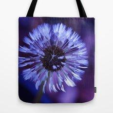 Violet Dandelion Tote Bag