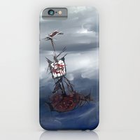 Ship in the fog iPhone 6 Slim Case