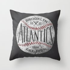 Brooklyn Atlantics  Throw Pillow