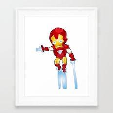 Man of Metal Framed Art Print