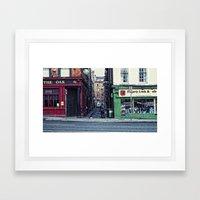 Old Dub Lihn Framed Art Print