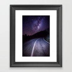 Forgotten World Highway Framed Art Print