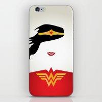 Wonder Girl iPhone & iPod Skin