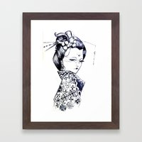 The Courtesan  Framed Art Print