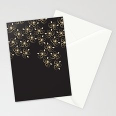 Dark Blossoms Stationery Cards
