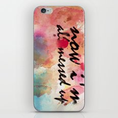 Tegan and Sara: Now I'm All Messed Up iPhone & iPod Skin