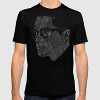 Malcom X Mens Fitted Tee Black SMALL
