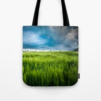 the storm is coming II Tote Bag