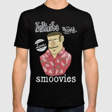 why watch (workaholics) SMALL Black Mens Fitted Tee