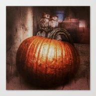Pumpkin Time Canvas Print