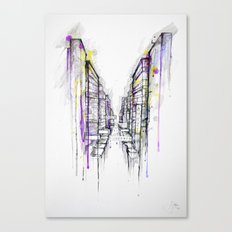 This City Sleeps Canvas Print