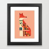 Century Fox Framed Art Print