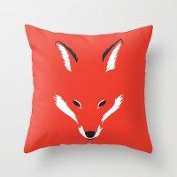 Foxy Shape Throw Pillow