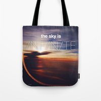 the sky is...  Tote Bag