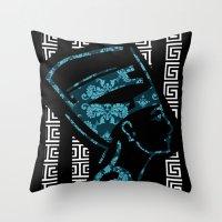 Nefertiti (version 2.0)  Throw Pillow
