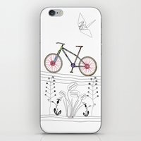 Photo Bicycle iPhone & iPod Skin