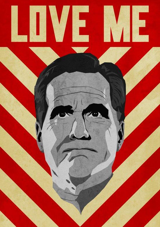 Love Me Romney Art Print