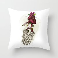 The Power Of Love Throw Pillow