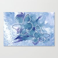 Fly butterfly fly Canvas Print