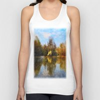 Autumn Lake Unisex Tank Top