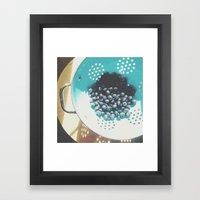 Sunshine Blues Framed Art Print