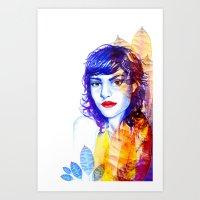 Fall Into Art Print