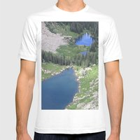 The View Mens Fitted Tee White SMALL