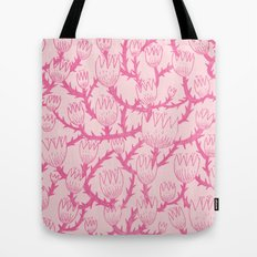 Pink Thorn Tote Bag