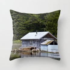 Sheltered Reflections Throw Pillow