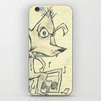 Skanking Wolf iPhone & iPod Skin