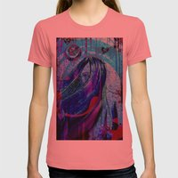 Violet Womens Fitted Tee Pomegranate SMALL