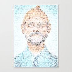 The Aquatic Steve Zissou Canvas Print
