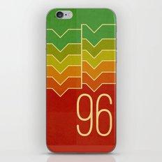 Nineteen ninety six iPhone & iPod Skin