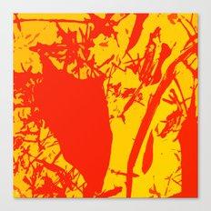 Straw men Canvas Print
