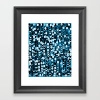 Color Hiving 2 Colors Framed Art Print