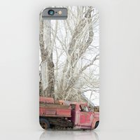 iPhone & iPod Case featuring red truck by redlinedesign®