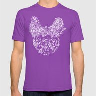 T-shirt featuring Botanical Frenchie by Huebucket