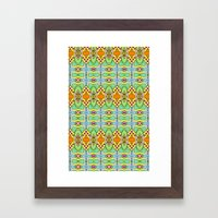 Bananas, Tangerines and Pistache! Framed Art Print
