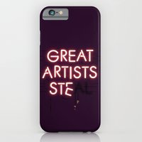 iPhone & iPod Case featuring Good Artists Copy.... by Budi Kwan