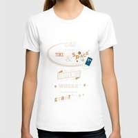 doctor who T-shirts featuring Time and Space by Risa Rodil