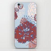 Crisantemo iPhone & iPod Skin