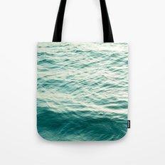 Blue Water Tote Bag