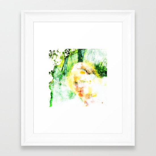 Miss. Sunshine  Framed Art Print