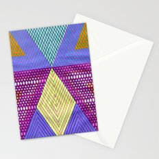 Isometric Harlequin #9 Stationery Cards