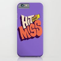 iPhone & iPod Case featuring Hit or Miss by Chris Piascik